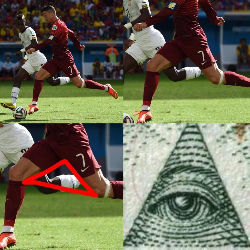 Twitter / Illuminati_Stop: CRISTIANO RONALDO'S GOAL WAS ...