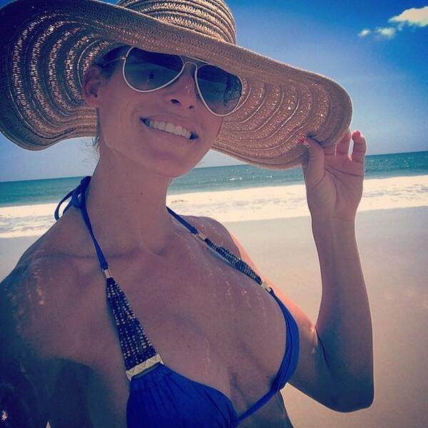 Image result for michelle mccool beach