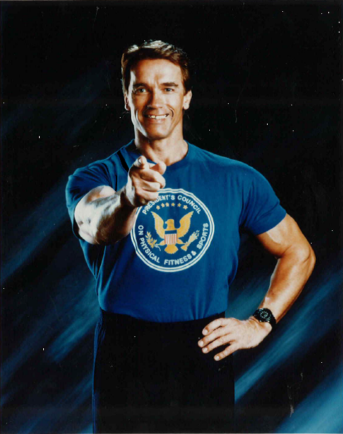 Arnold @Schwarzenegger was a huge advocate for Physical Education in his time as Chairman of @FitnessGov #tbt http://t.co/JvCJRFC0tG