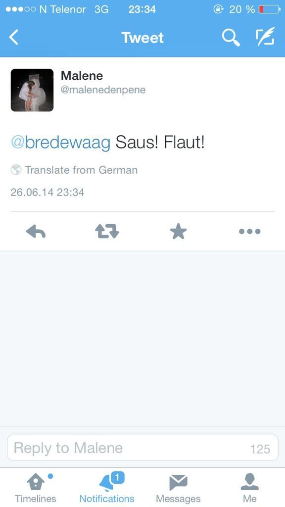 oversette til tysk