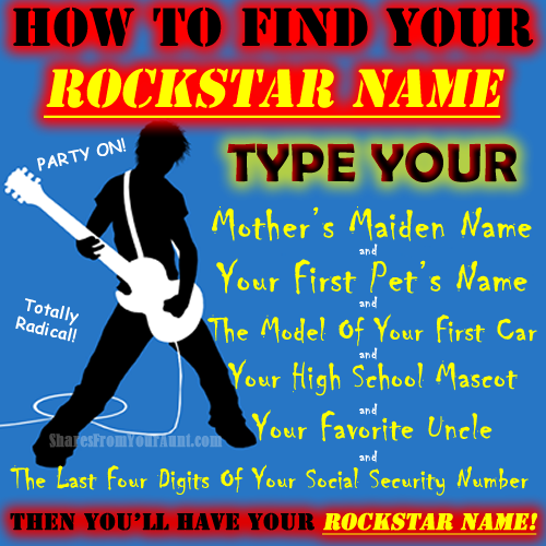 How to find your rockstar name http://t.co/sTTt9WzFDn