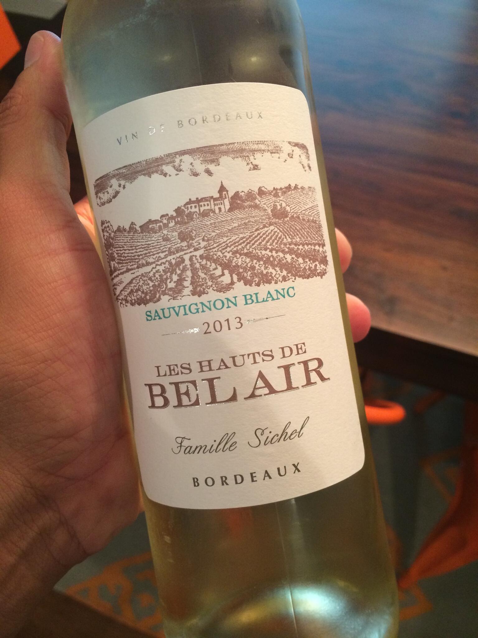 Twitter / Bepkoboy: Love a nice Bordeaux Blanc? ...