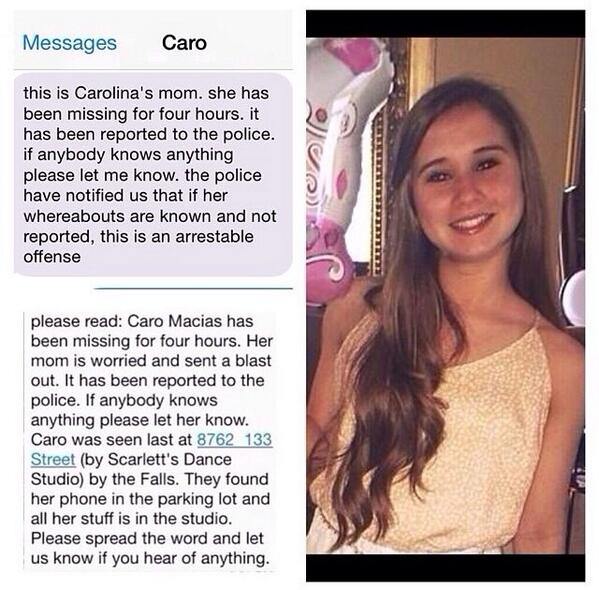 Please share and RT!!! We need to find this dancer!! ❤️❤️ #HelpFindCaro http://t.co/CO47iCifqf
