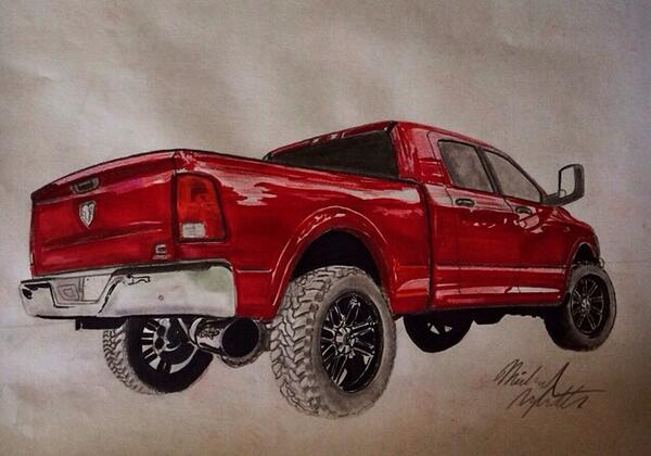 sick drawings on twitter this truck drawing is amazing http t