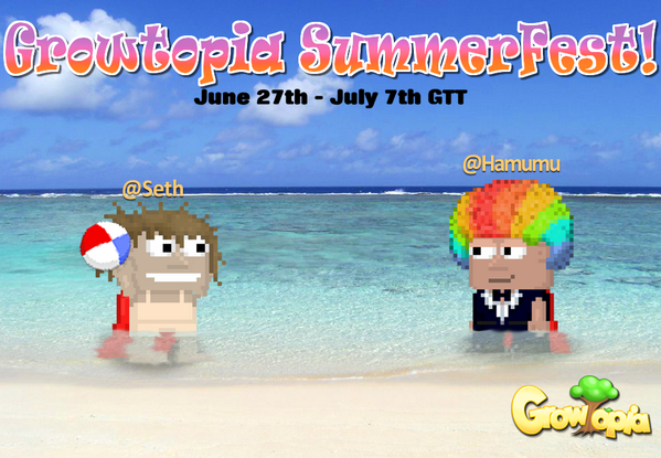 Growtopia Official On Twitter Summerfest Has Begun New Stuff And Fireworks Appearing Everywhere Http T Co Glkvvngamy