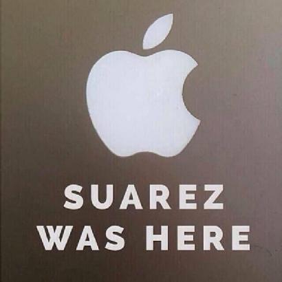 Suarez was here… http://t.co/vZIyZNL2Gb