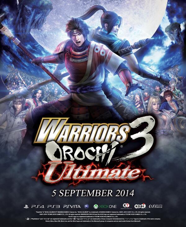 "Warriors Orochi 3 Ultimate Xbox One: KOEI TECMO EUROPE On Twitter: ""Warriors Orochi 3 Ultimate"