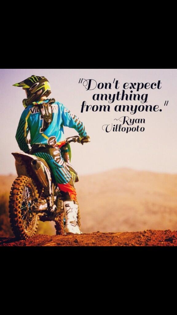Motocross Pics On Twitter Dont Expect Anything From Anyone