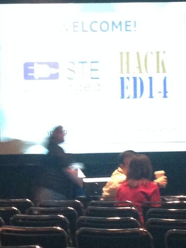 First time here! Put in for #gamification lets do this! #isteunplugged #hacked14 #hackeducation #iste2014 http://t.co/CGQYd486oT