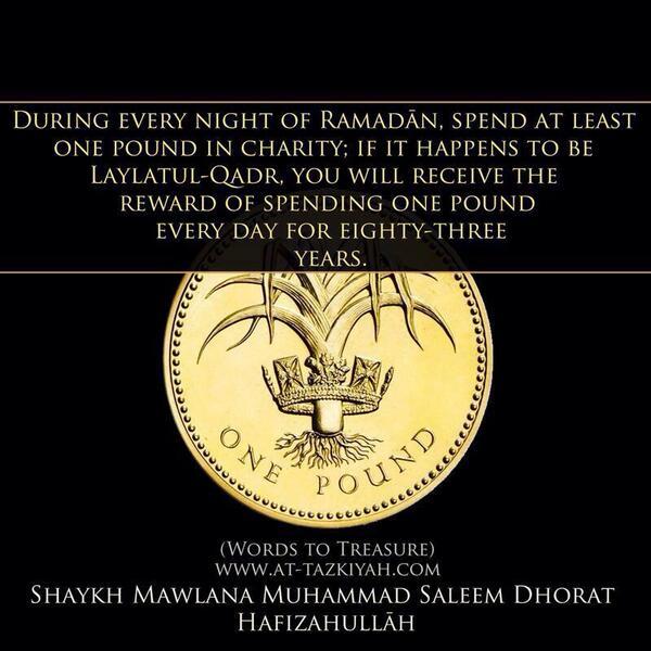 Spend in Ramadan