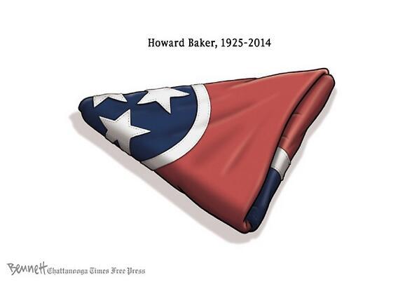 6/27/2014- Howard Baker  #GreatConciliator #HowardBaker #RIP #Tennessee http://t.co/2lpeZZkcfg