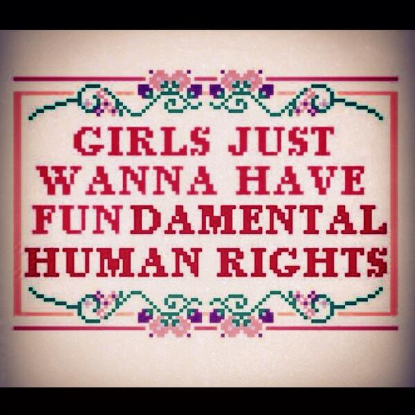 Sarah Sophie Flicker On Twitter Girls Just Wanna Have Fundamental