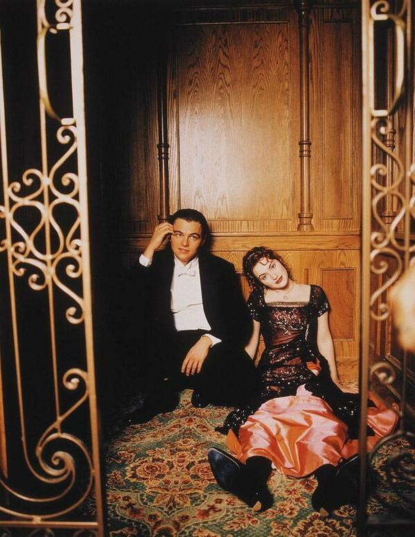 Between Scenes of Making of #Titanic http://t.co/zv3bslCigg