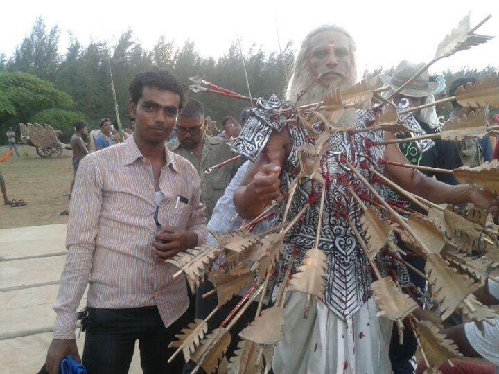 Arjun S Devadatta On Twitter Offscreen Picture Of Aravchowdharry Aka Pitamah Bheeshm From The Sets Of Mahabharat Bedofarrows Aravian Fc Http T Co Alowx9vscq