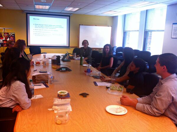 At @OppFinance we learn about career opportunities with the #intern Brown Bag lunch series! #DayInTheLife http://t.co/wDxhqDkQb1