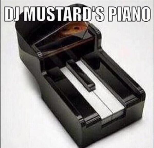 J i retro on twitter dj mustard 39 s piano for Unblocked piano