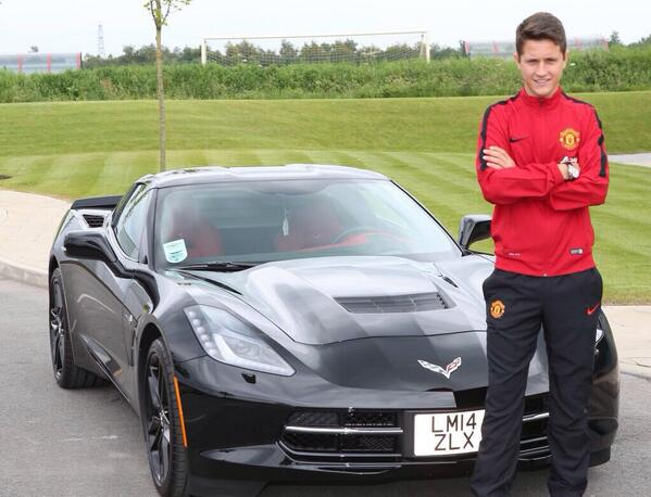 photo of Ander Herrera Chevrolet Corvette - car