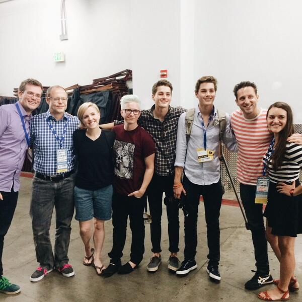A great group of people. @JackHarries @FinnHarries @realjohngreen @harto @tyleroakley @JoshSundquist @gatesfoundation http://t.co/48D2pyi6NX