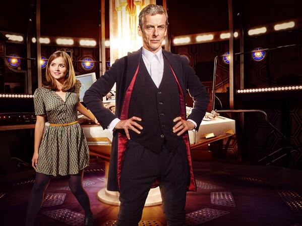 Confirmed! The new #DoctorWho lands on @BBCOne on Sat 23 August http://t.co/gDmeZLd12t http://t.co/RYwALkyGXh