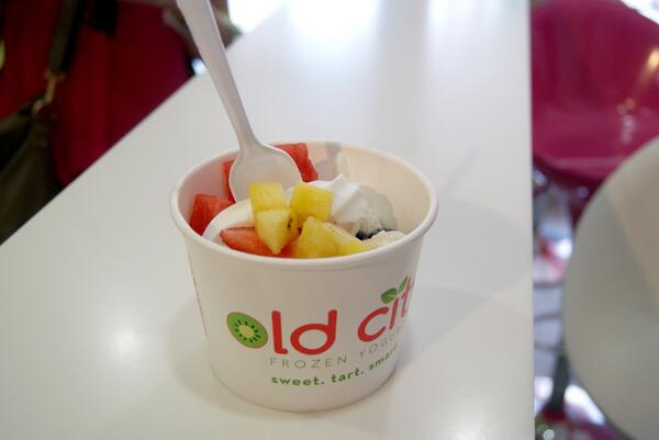 Stopping by Old City Froyo for a quick pick-me-up! #DayInTheLife http://t.co/LNaeiFX3sM