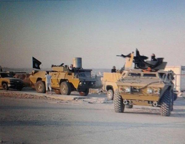 ИГИЛ захватил американскую технику в Ираке