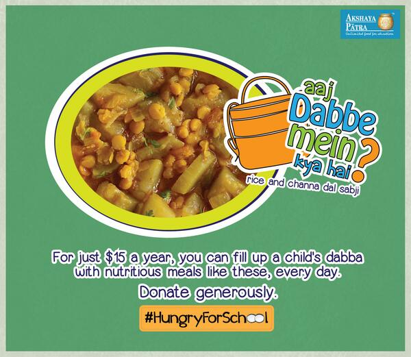 #lunchbox #rice + channa dal sabji = #carbs + #protein for #energy. $15 to feed #child 4 yr http://t.co/nXU3SCB6WB http://t.co/DNElDguNUx