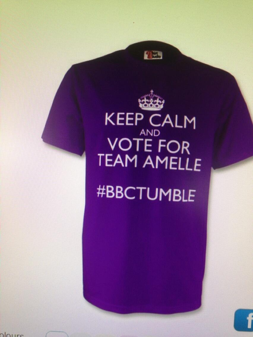 RT @flora1961: @Joeybiscuit1977 and @Flora1961 have their T shirts sorted! @DougFordyce #team Amelle http://t.co/vVoV40VN0z
