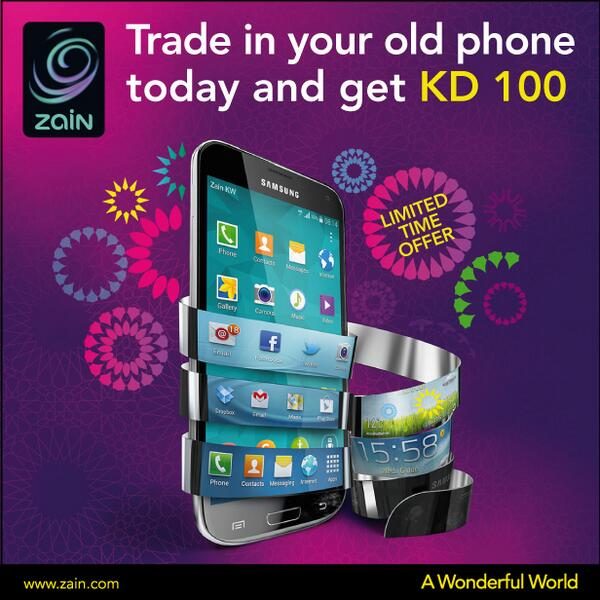Zain Kuwait On Twitter Trade In Your Old Device For A BRAND NEW One And Get KD 100 Credit Offer Ends Sunday Tco WpZ4JZaTWc