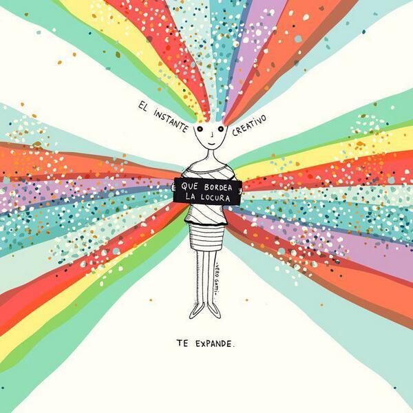 Dibujo de Vero Gatti: creatividad