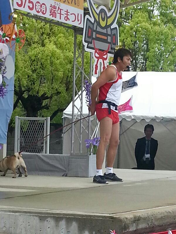 """笑笑""""@chicchai_obahan: お久しぶりやねぇ(^ー^)今『松本人志のすべらない話』見てたら、サバンナ高橋くんがうちんとこの愛犬八木との八木くんの漫才したときのお話してくれてたねぇ(*´∇`*) http://t.co/HF8ECaSURz"""""""