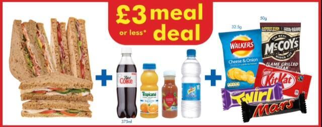 英國「常餐」— Meal Deal
