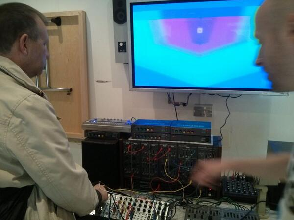 @lzxindustries video synthesis tutorial from Team Doyobi at Brighton Modular Meet http://t.co/vQiKRwUtdO