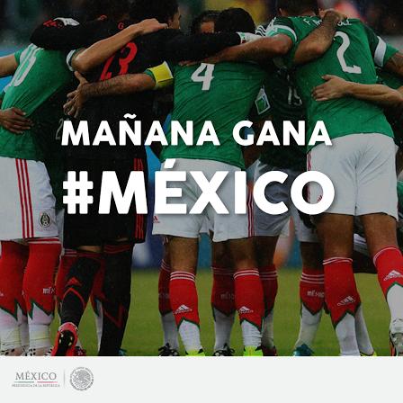 ¡Mañana gana México! Mañana gana @miseleccionmx http://t.co/WSbcObn48i
