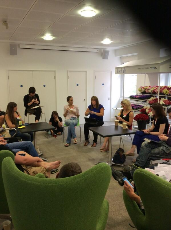 Personalising content session from #eBay #thebigyak @theICcrowd @ITNProductions http://t.co/NhQTXBWqAp