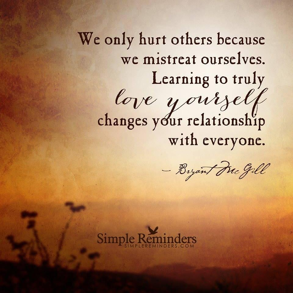 Twitter / JoyAndLife: We hurt others because we ...