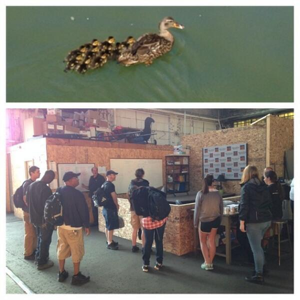 The #waterfire ducklings are ready to share the #love. #lovereachesout http://t.co/QxsnStsS54