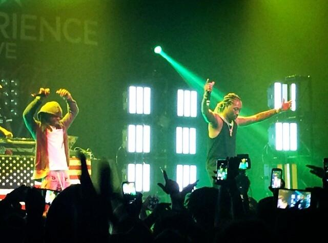Future Brings Out Lil Wayne Live In L.A.