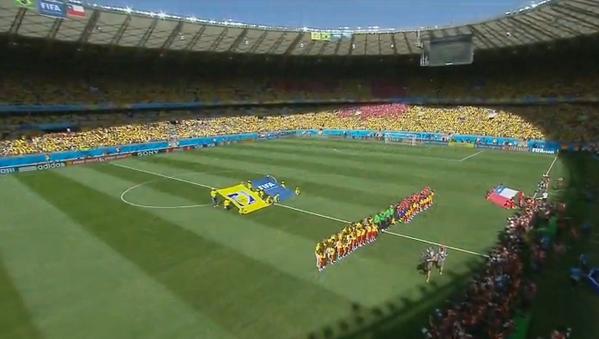 Skor Akhir Brasil vs Chili, Babak 16 Besar Piala Dunia 2014