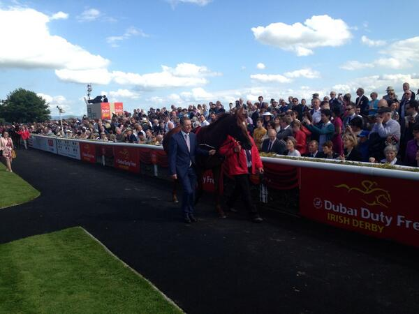 Australia ahead of the Dubai Duty Free Irish Derby @curraghrace http://t.co/MyT7J6foz5
