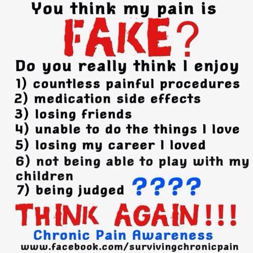 chris chronicpaindad on twitter you think my pain is fake