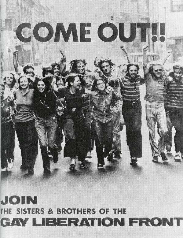 from Demetrius gay liberation of 1970s and connection to aids