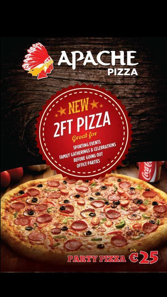 Apache Pizza Navan On Twitter 24 Inches 2ft Pizza
