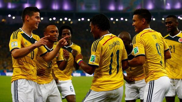 Celebra mi Colombia que #EstamosEnCuartos http://t.co/FDi6kr8CSW