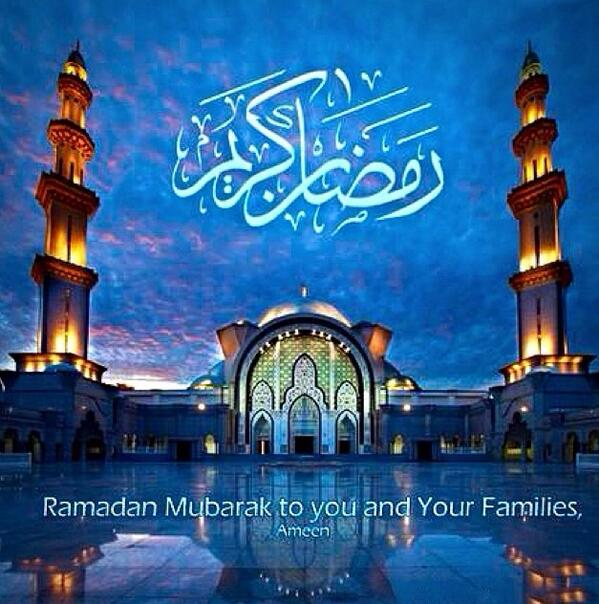 Ramadan Mubarak to everyone observing the Holy Month Of Ramadan , blessings to you and your loved ones #Ramadan http://t.co/WgHXHpDHVL