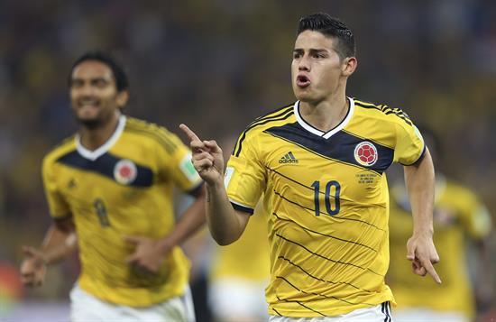 #COL 2 #URU 0 49´ Gol de Colombia! James Rodríguez decreta el dos a cero ante Uruguay. http://t.co/upoZjAM4Z4 http://t.co/S9OBvi2X7m