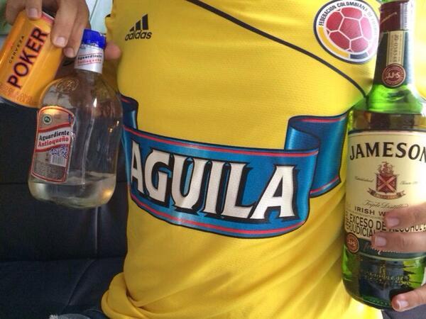 Pokerman, Guarín, Aguilar y Jameson!!! http://t.co/na8n0lrVqV