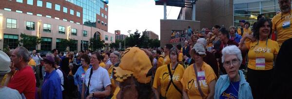We are standing on the side of love #uuaga #waterfire http://t.co/YiJrnQi0uN
