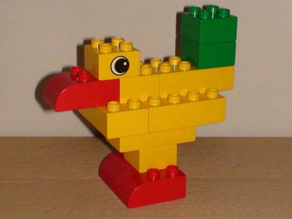 Building Examples On Twitter Create Your Lego Duplo Bird With