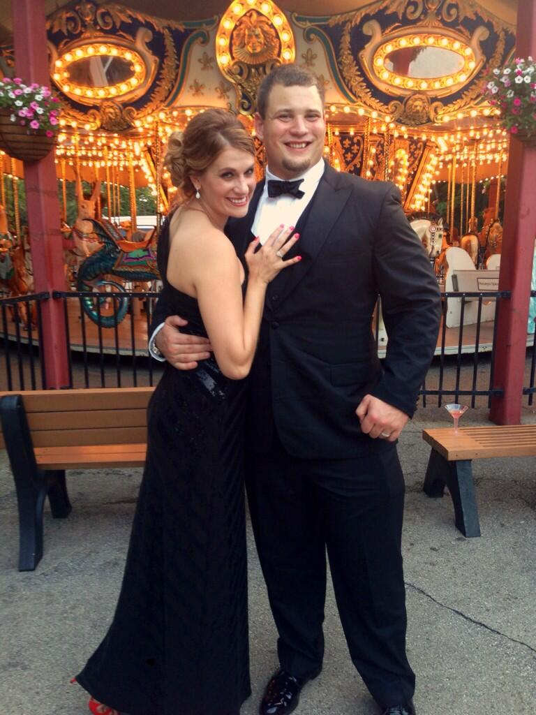 "Kevin Zeitler on Twitter ""Milwaukee zoo ball with my wonderful"