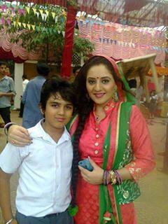 #DevishAhuja and mom